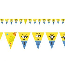 Minions, Happy Birthday Banner
