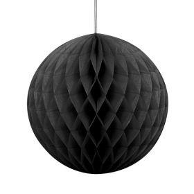 Honeycomb ball 20 cm, sort