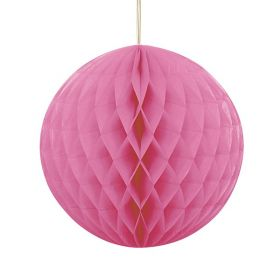 Honeycomb ball 20 cm, rosa