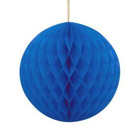 Honeycomb ball 20 cm, blå