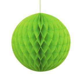 Honeycomb ball 20 cm, limegrønn
