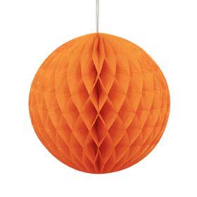 Honeycomb ball 20cm, oransje