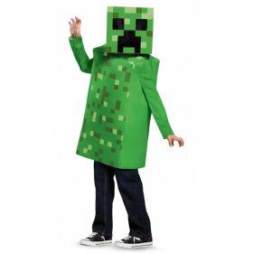 Minecraft Creeper kostyme til barn