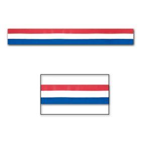 Dekorasjonstape, Rødt/Hvitt/Blått
