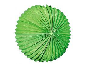 Papirlykt, grønn kule