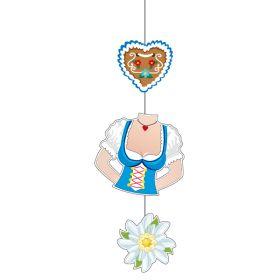 Takheng, hjerte, dirndl og edelweiss
