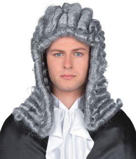 Dommerparykk, grå