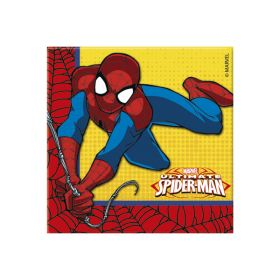 Spiderman servietter, 20 stk.