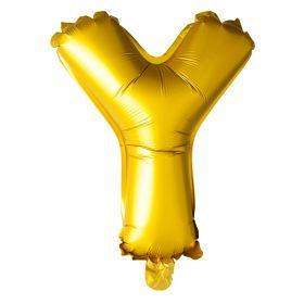 Folieballong gullbokstav Y