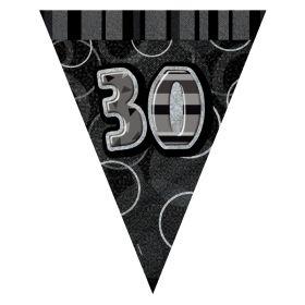 Sort & Sølv 30 vimpelrekke