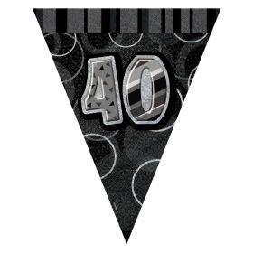 Sort & Sølv 40 vimpelrekke