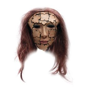 Pusslespill dame maske