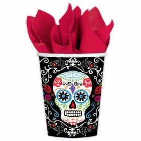 Day of the Dead Pappkrus 10 stk