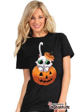T-Skjorte Digital Dudz Kitty Eyes