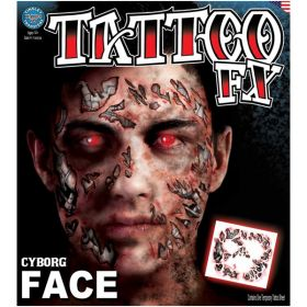 Ansikts tatovering, Terminator/Cyborg
