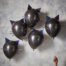 Katte-ballonger, 5 stk.