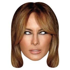 Melania Trump pappmaske