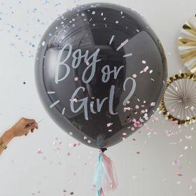 Gender Reveal Gutt eller Jente Ballong kit