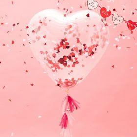 Stor Hjerteballong 90 cm