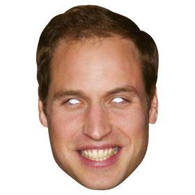 Prins William pappmaske