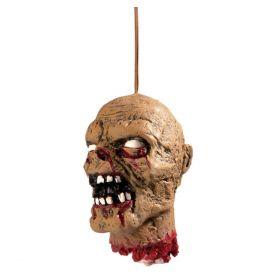 Avkappet hode Zombie, 15 cm