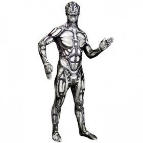 Bilde av Morphsuit Android, et tettsitende robot-kostyme