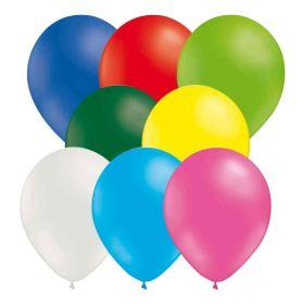 Ballonger blandet farger, 25 stk.