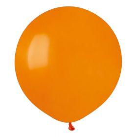 Ballonger ensfarget, 25 stk. oransje