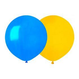 Ballonger Sverige Gule/Blå 26 cm, 10stk