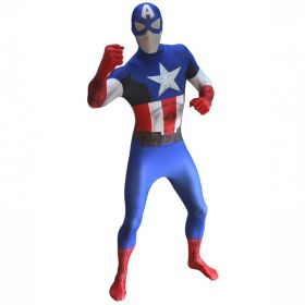 Morphsuit Captain America