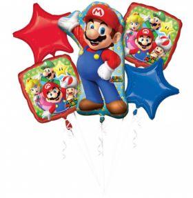 Ballongbukett Super Mario