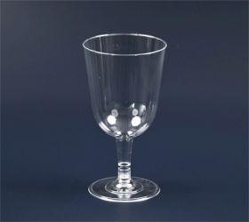 gjennomsiktig plastglass