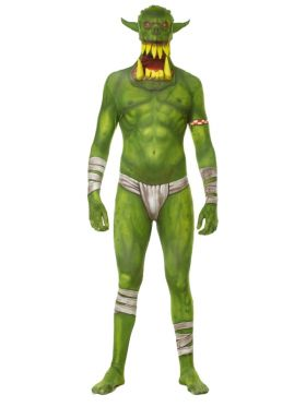 Morphsuit Barn Green Orc