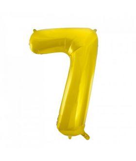 Folieballong gull tall Nr. 7