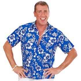 Blå Hawaiiskjorte