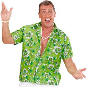 Grønn Hawaiiskjorte