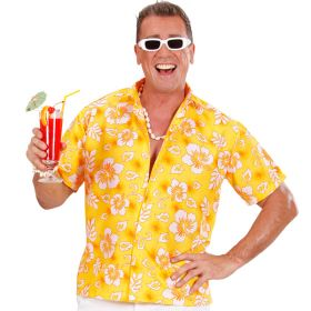 Gul Hawaiiskjorte