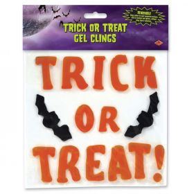 Trick or Treat clings