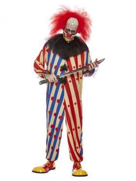 Creepy Clown, Mann, XL