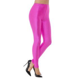 80-talls neonrosa leggings