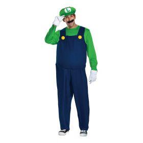 Luigi voksen kostyme