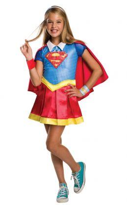 Supergirl Deluxe Kostyme Barn