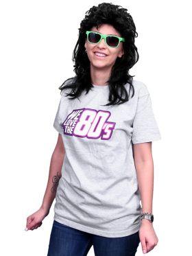 T-skjorte We love the 80's, grå