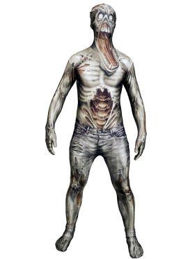 Bilde av Morphsuit The Zombie, et tettsitende zombie kostyme til voksen