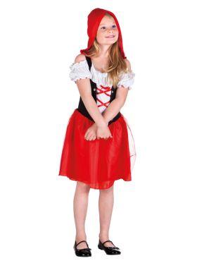 Rødhette kostyme til barn