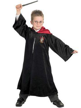 Gryffindorkappe luksus til barn