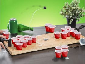 Mini Beer pong i tre