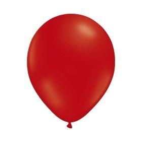 Ballonger ensfarget, 25 stk. rød