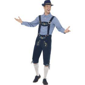 Deluxe Oktoberfest kostyme Rutger