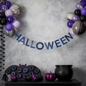 Halloween Ballong-Banner Kit